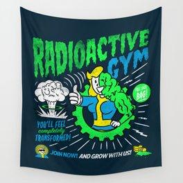 Radioactive Gym Wall Tapestry