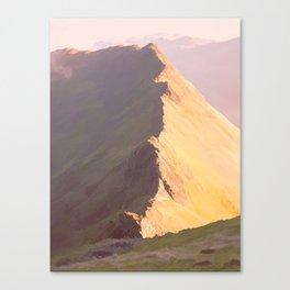 Striding Edge, Cumbria Canvas Print