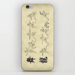 The Dancing Dragon iPhone Skin