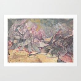 Epicia and Maffick Art Print