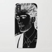 zayn iPhone & iPod Cases featuring Zayn by andjustlove