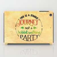 hobbit iPad Cases featuring Hobbit Party by Purrito Press