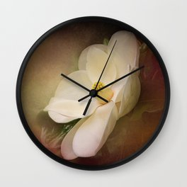 Magnolia in Bloom 1 Wall Clock