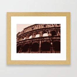 Ancient Colosseum, Rome Framed Art Print