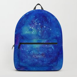 Constellation Aquarius Backpack