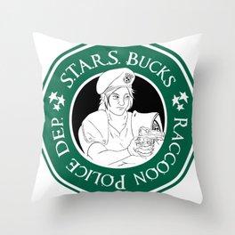 S.T.A.R.S Jill Throw Pillow