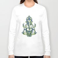 ganesh Long Sleeve T-shirts featuring Ganesh by Scalifornian