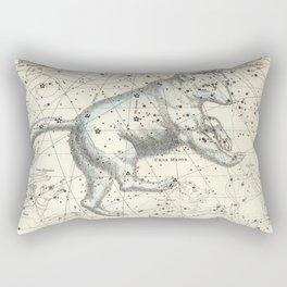 Celestial Atlas Plate 6 Alexander Jamieson, Ursa Major Big Dipper Rectangular Pillow