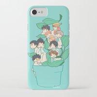 haikyuu iPhone & iPod Cases featuring Haikyuu!! Aobajousai Team by Kim Quim