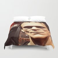 frank Duvet Covers featuring Frank by Jimmy Duarte