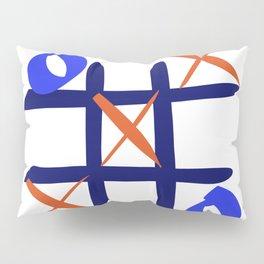 Tic Tac Toe Pillow Sham