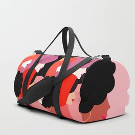 Together Girl Power - Pattern #girlpower Duffle Bag