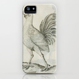 006 englandische Hahn (Ger)2 iPhone Case