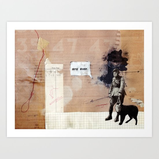 Are over. Art Print