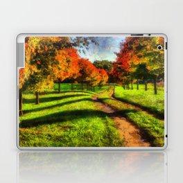 Fall Road Laptop & iPad Skin