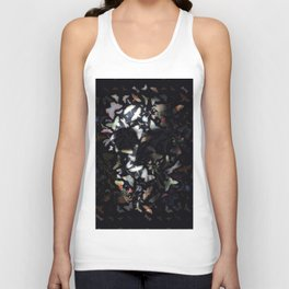 Butterfly And Skull Unisex Tank Top