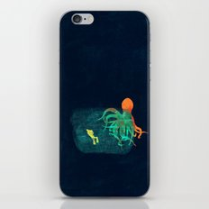 the visitor iPhone Skin