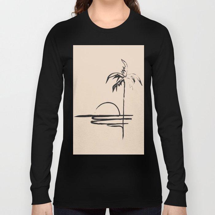 Abstract Landscpe Long Sleeve T-shirt
