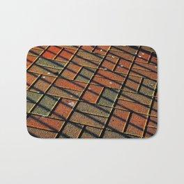 Brickline Bath Mat