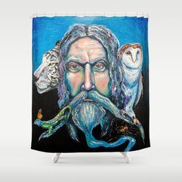 KEEPER OF THE WOOD Shower Curtain