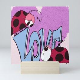 Ladybug Love Mini Art Print