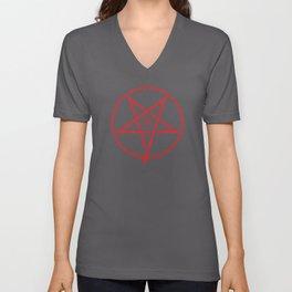 Adversary Pentagram Unisex V-Neck