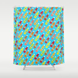 Jarritos the all natural fruit flavored sodas Shower Curtain