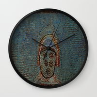 gladiator Wall Clocks featuring Gladiator by Alec Bancher