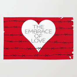 The embrace of love Rug