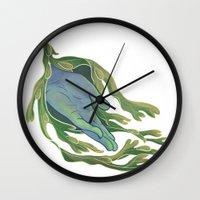 let it go Wall Clocks featuring Let Go by Rhea Ewing