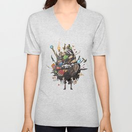 Let me guess, someone stole your sweetroll Unisex V-Neck