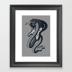 Snakeuitar Framed Art Print