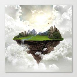 The island of silence Canvas Print