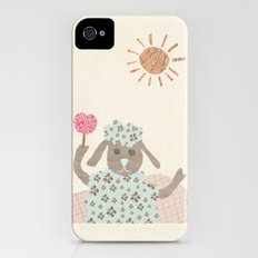 sheep collage iPhone (4, 4s) Slim Case