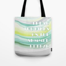 Breeze of change Tote Bag