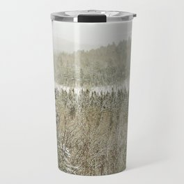 Winter Wilderness Travel Mug