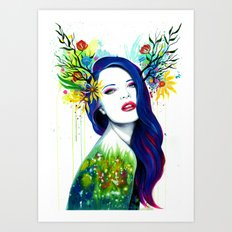 -Spring- Art Print