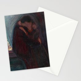 The Kiss - Edvard Munch Stationery Cards