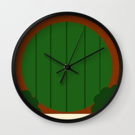 A Hole in the Ground Wall Clock