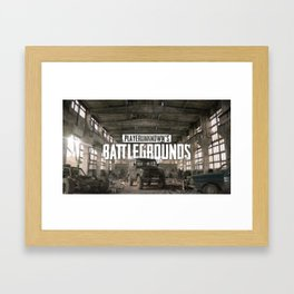 PUBG 14 Framed Art Print