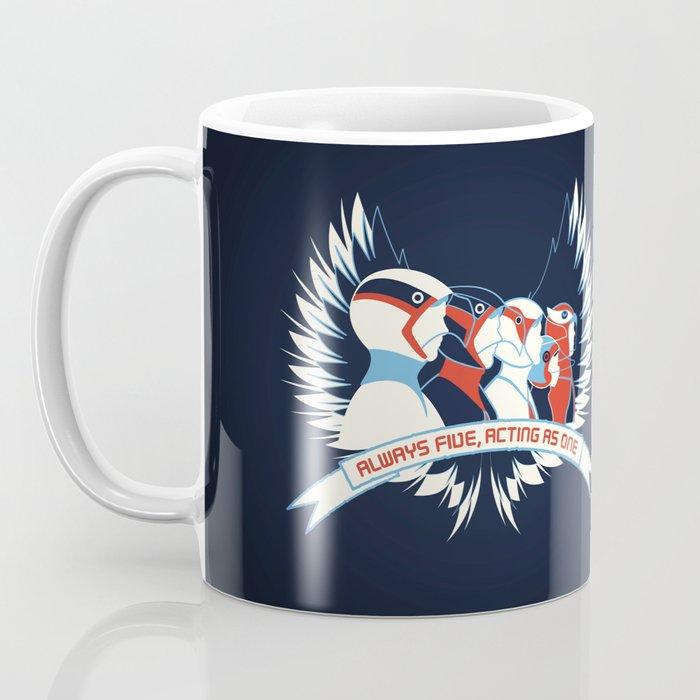 Always Five, Acting As One Coffee Mug