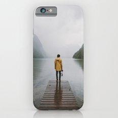 Mountain Lake Vibes - Landscape Photography Slim Case iPhone 6s