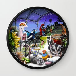 Just After Dinner Wall Clock