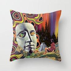 Return of Quetzalcoatl Throw Pillow