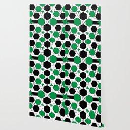 Green Black Wallpaper