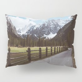 Let's hike together - Landscape and Nature Photography Pillow Sham