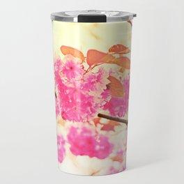 Pink Pushy Power Travel Mug