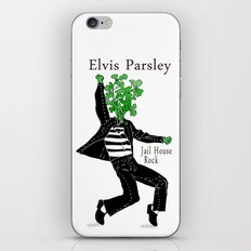 Elvis Parsley iPhone & iPod Skin