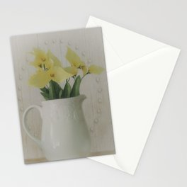 PITCHER OF FLOWERS Stationery Cards
