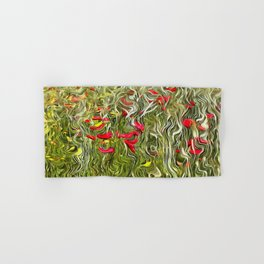 Poisoned Poppies Hand & Bath Towel